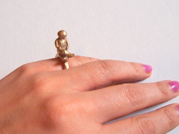 StyleAlter bronze man ring