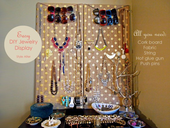 Style Alter DIY Jewelry Display